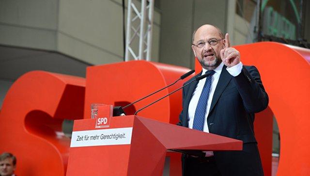 Лидер Социал-демократической партии Германии Мартин Шульц. Архивное фото