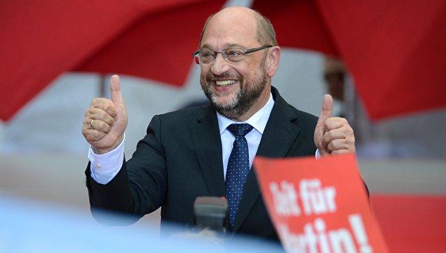 Мартин Шульц проголосовал на выборах в Бундестаг