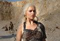 Кадр из сериала Игра престолов. Дэйнерис Таргариен