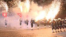 Церемония открытия  фестиваля Спасская башня в Москве