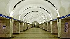 Станция Проспект Просвещения Петербургского метрополитена. Архивное фото