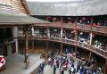 """Театр """"Глобус"""" в Лондоне во время дня открытых дверей"""