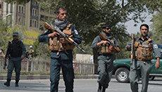 Силы безопасности Афганистана в Кабуле. Архивное фото