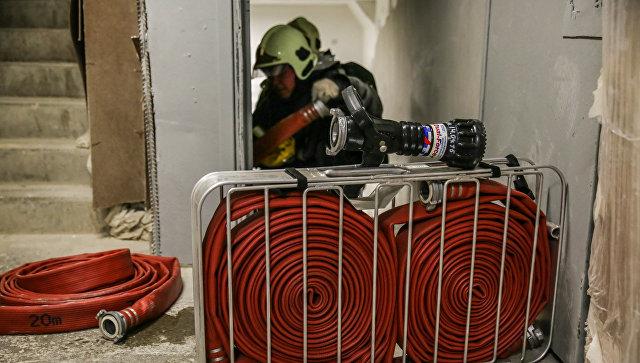 Закрытый полигон ТБО «Аннино» вРузском округе обследуют тепловизорами после возгорания