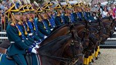 День лошади на фестивале Спасская башня