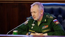 Заместитель министра обороны РФ Александр Фомин. 30 августа 2017