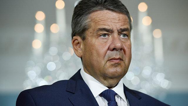 Министр иностранных дел Германии Зигмар Габриэль. Архивное фото.