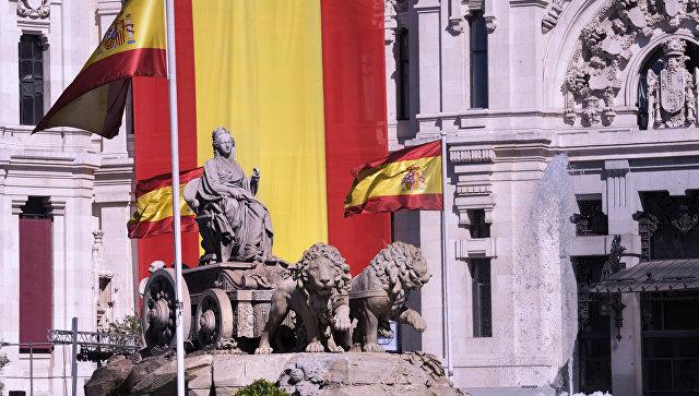 Фонтан Сибелис в Мадриде. Архивное фото