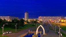 Вид города Набережные Челны. Архивное фото