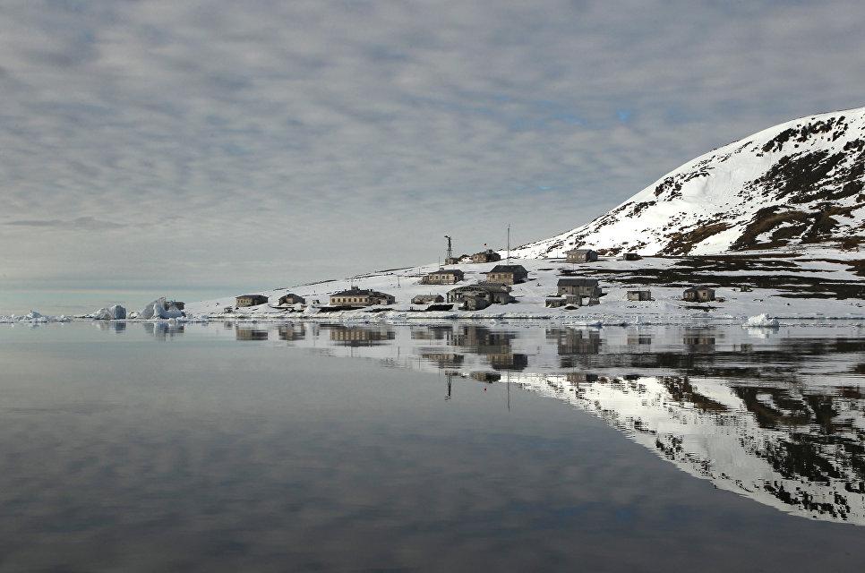Земля Франца-Иосифа, национальный парк «Русская Арктика».