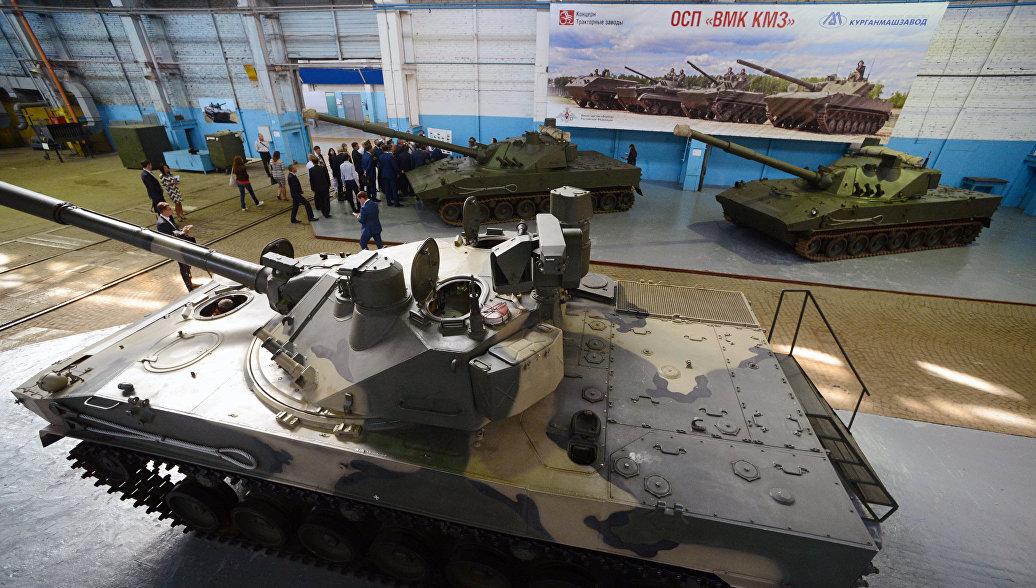 Псковские десантники получат плавающие боевые машины ибронетранспортёры