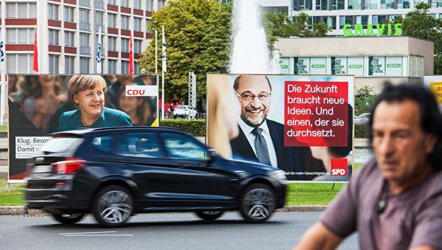 Российские депутаты будут наблюдать за выборами в Германии