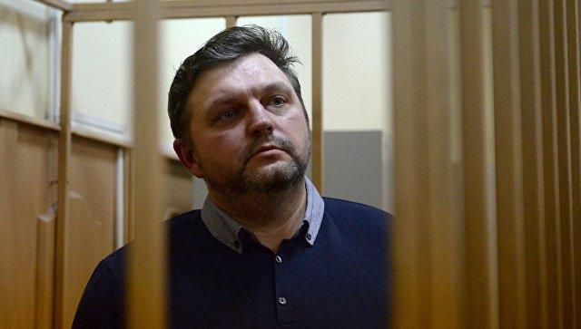 Экс-губернатор Кировской области Никита Белых в Басманном суде Москвы. Архивное фото