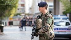 Сотрудник французской полиции. Архивное фото