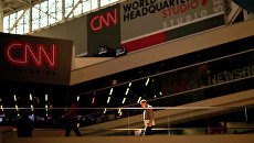 Штаб-квартира CNN в Атланте, США. Архивное фото