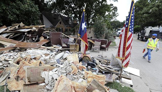 В конгрессе США утвердили помощь пострадавшим от урагана «Харви»