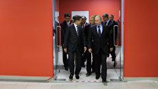 Президент РФ Владимир Путин и президент Республики Кореи Мун Чжэ Ин