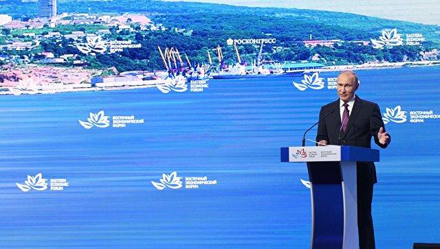 Путин пообещал упрощенное гражданство большим заграничным инвесторам Дальнего Востока