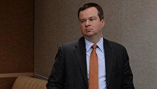 Заместитель Министра финансов Российской Федерации Алексей Моисеев . Архивное фото