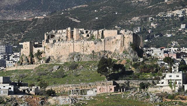 Крепость в городе Масьяф в сирийской провинции Хама. Архивное фото
