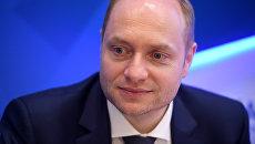 Министр Российской Федерации по развитию Дальнего Востока Александр Галушка на Восточном экономическом форуме во Владивостоке