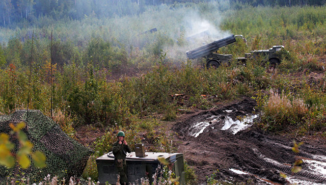 На полигоне в Ленинградской области прогремел взрыв