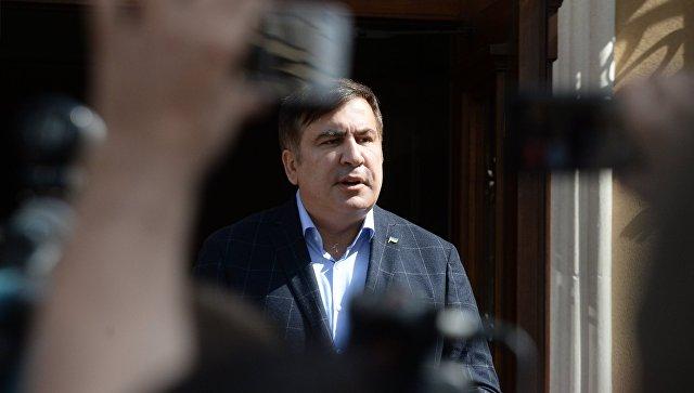 МВД Украины: Оснований для задержания Саакашвили нет