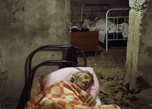 Раненый в госпитале в Цхинвали