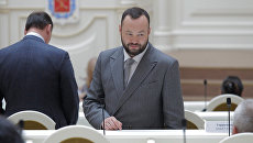 Депутат Законодательного собрания Санкт-Петербурга Андрей Анохин. Архивное фото