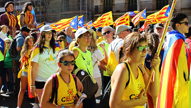 """Власти Каталонии запустили сайт с информацией о """"референдуме"""""""