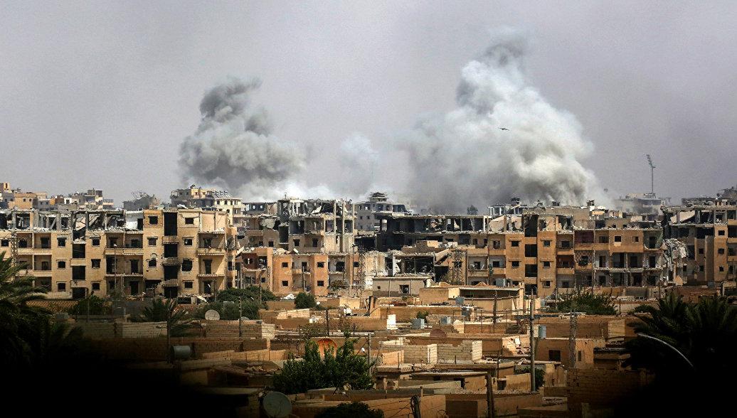 Представители коалиции США и российские военные провели встречу по Сирии