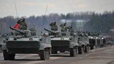 Боевые гусеничные плавающие машины БМД-4М