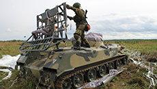 Передовые подразделения Псковского соединения ВДВ вступили в бой с условными нарушителями государственной границы в рамках учений Запад-2017