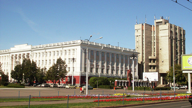 Алтайский Государственный Университет (АлтГУ). Архивное фото