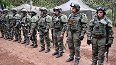 Военнослужащие России и Белоруссии на учениях. Архивное фото