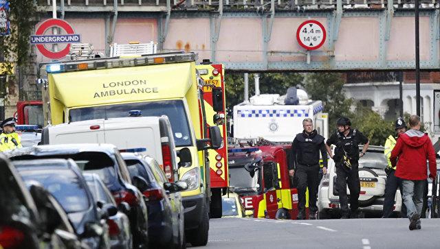 Милиция установила личность подозреваемого вделе овзрыве встолице Англии