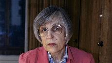 Поэтесса Юнна Мориц. Архивное фото
