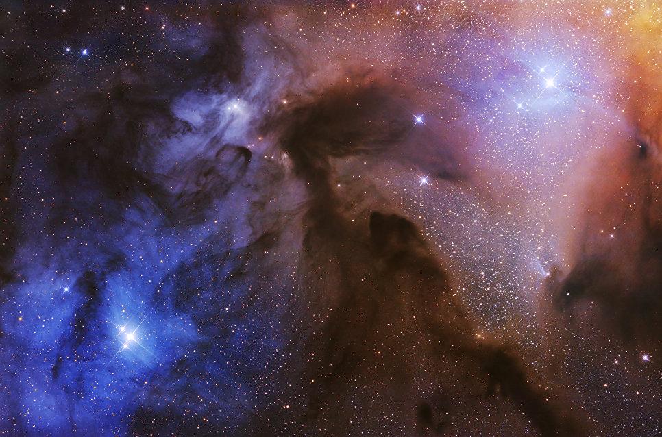 Снимок фотографа Артема Миронова из России The Rho Ophiuchi Clouds, победивший в категории Звезды и туманности в фотоконкурсе Insight Astronomy Photographer of the Year 2017