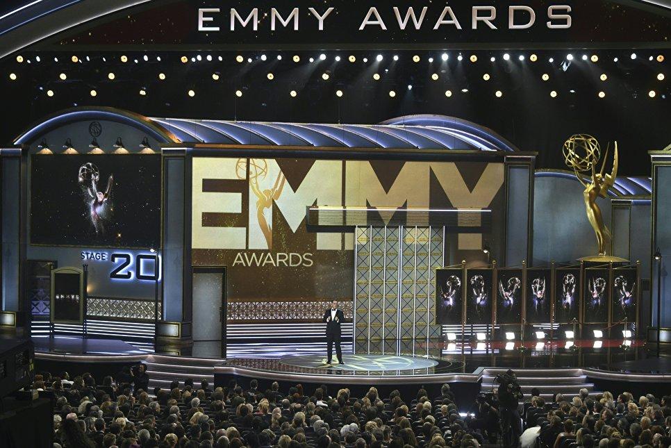 Церемония награждения телевизионной премии Эмми-2017 в Лос-Анджелесе