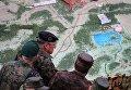 Военные специалисты во время проверки президентом РФ Владимиром Путиным действий вооружённых сил Союзного государства России и Белоруссии на основном этапе совместного стратегического учения Запад-2017 на полигоне Лужский