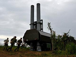Новый береговой ракетный комплекс Бастион. Архивное фото