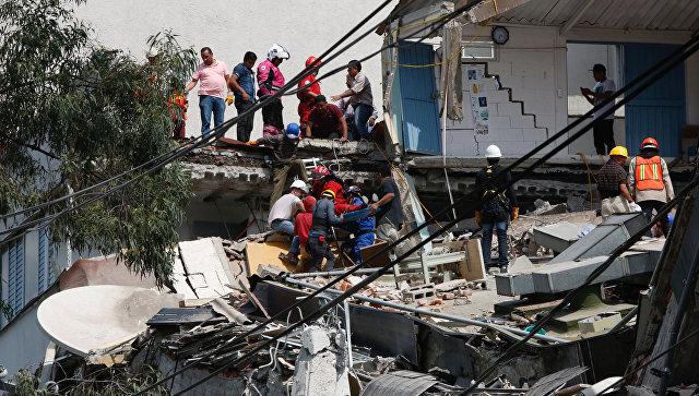 Глава спасательной службы Мексики уточнил число жертв землетрясения