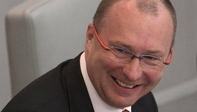 Заместитель председателя Государственной Думы РФ Игорь Лебедев. Архивное фото