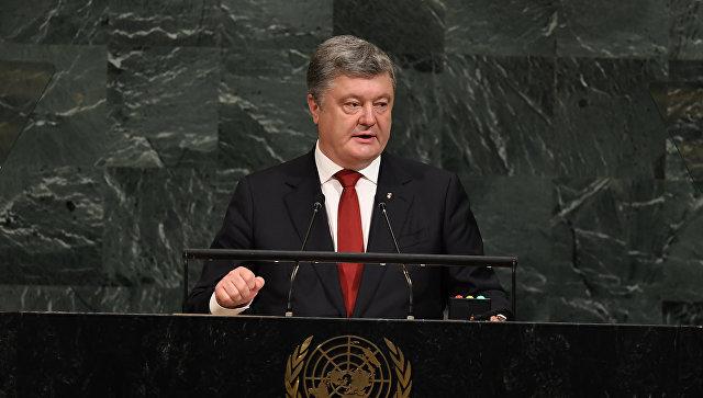 Порошенко обсудил с генсеком ООН перспективы отправки миротворцев в Донбасс