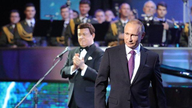 Путин отлица млн людей поблагодарил Кобзона затворчество