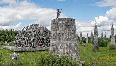 Волонтеры благоустроили территорию национального парка Угра в Калуге