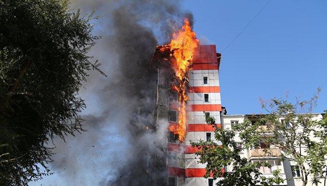 Третий за месяц пожар в Ростове-на-Дону: двое погибли, сотни эвакуированы