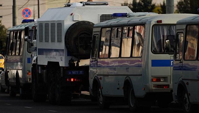 Полиция в Москве. Архивное фото