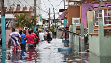 Последствия урагана Мария в городе Катано на острове Пуэрто-Рико. Архивное фото