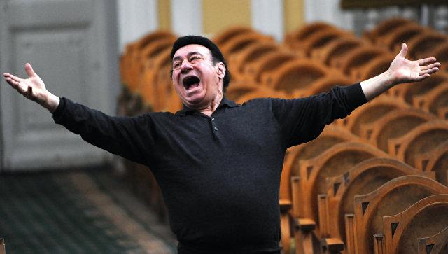 ВТбилиси проходит прощание соперным певцом Зурабом Соткилавой
